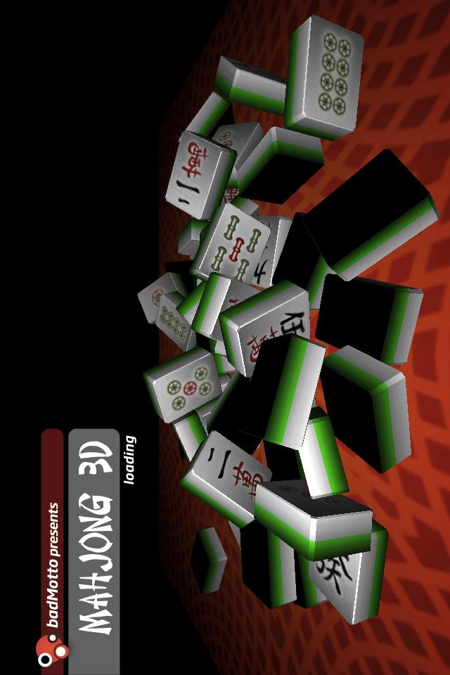 Screenshot 3D Mahjong