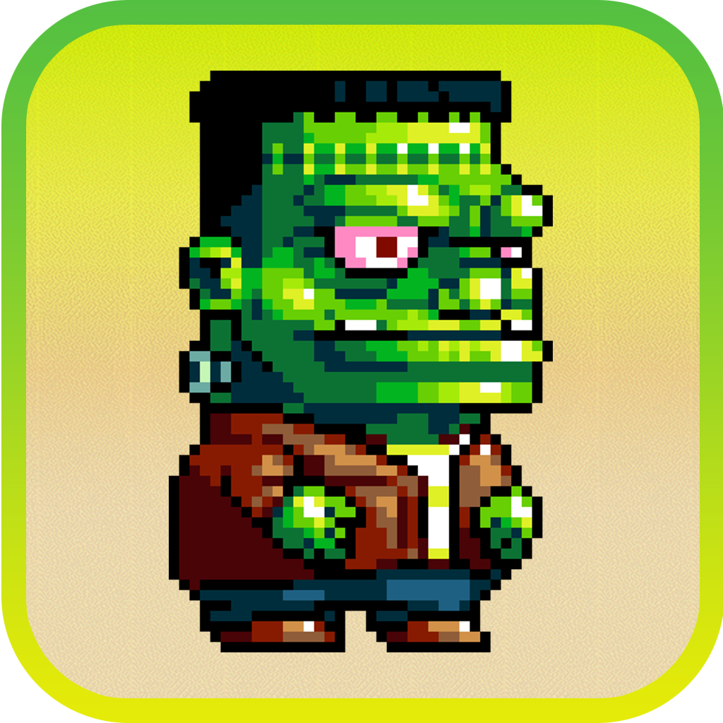 Dumpy Pixel Monsters: The Adventure of Scary Aliens